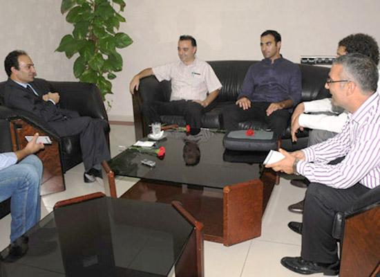 Ermeni sivil toplum örgütü Yerkir'den Baydemir'e ziyaret