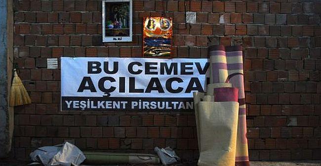 CHP'li belediye Yeşilkent Cemevi'ni 6. kez bastı