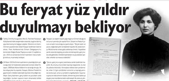 Bu feryat yüz yıldır duyulmayı bekliyor - AGOS'un Manşeti