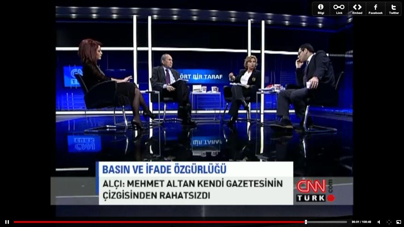 Enver Aysever, Nazlı Ilıcak, Nagehan Alçı, Altan Öymen / Dört Bir Taraf (19.01.2012)