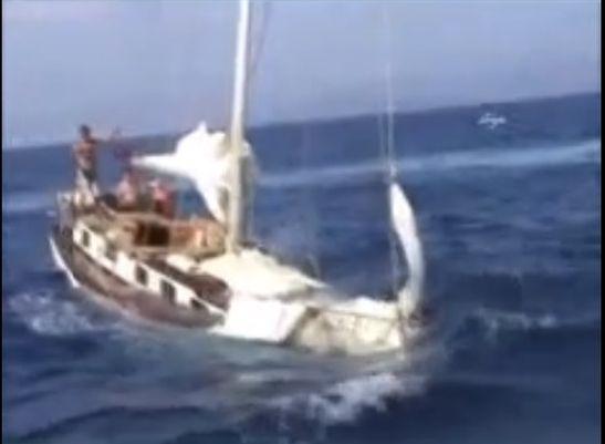Bodrum'da Suriyelileri taşıyan tekne alabora oldu