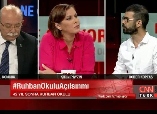CNN TÜRK'te Ruhban Okulu tartışıldı