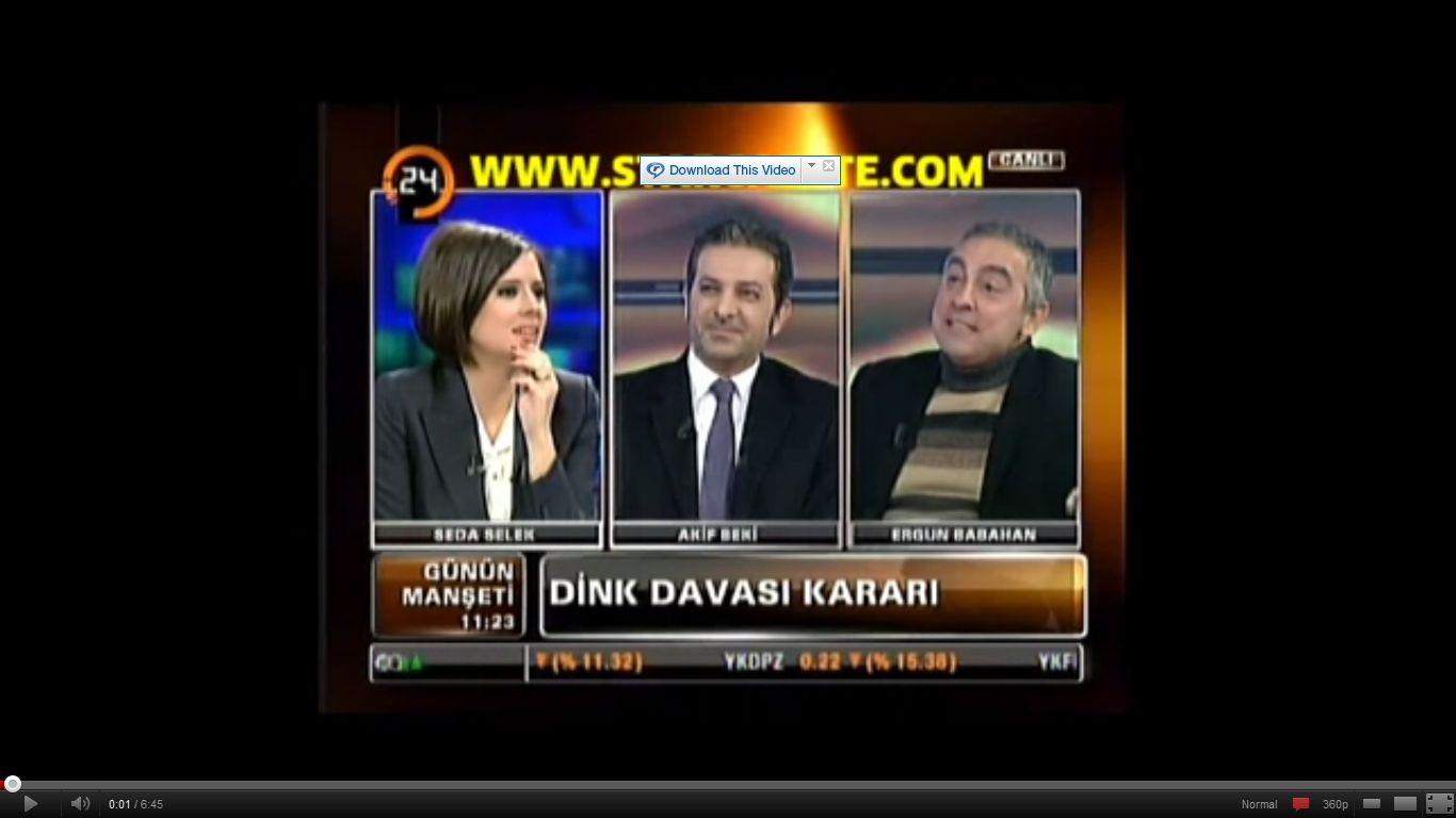 Akif Beki, Ergun Babahan / Seda Selek - Günün Manşeti - 24 (1)