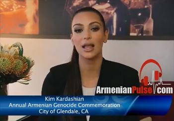 Kardashian'dan soykırım anması için video