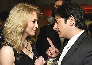 Madonna ve Kesishian yazdı Haluk Bilginer oynadı