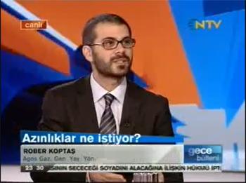 Rober Koptaş NTV'de Yeni Anayasa üzerine konuştu