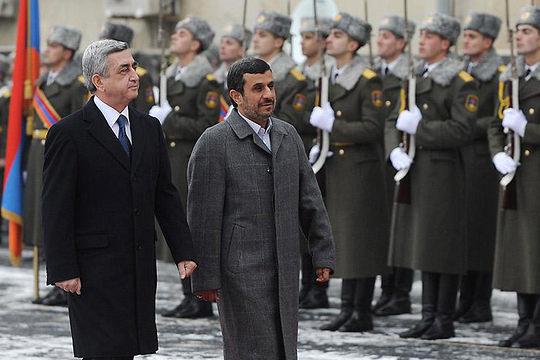 Ermenistan ve İran arasında ilişkiler gelişmeye devam ediyor