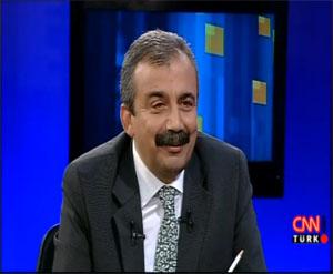 Süreyya Önder CNN'e konuk oldu