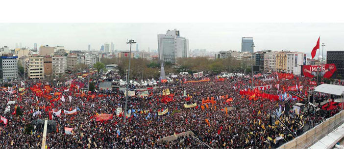 1 Mayıs'ta Taksim yine 'kapatıldı'